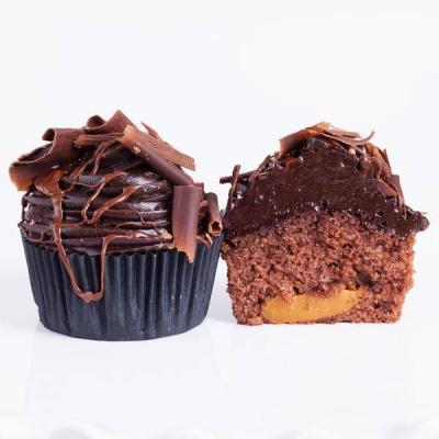 Chocolate Rolo Cupcake