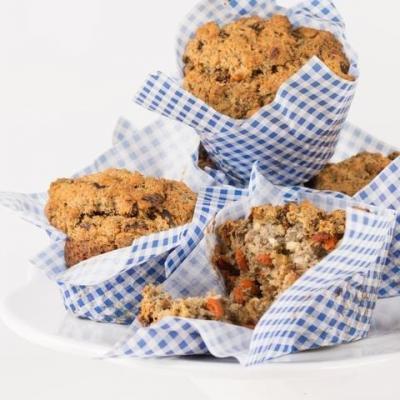 Goji berrie and carrot health muffins Sugar-free (price per 6 items)