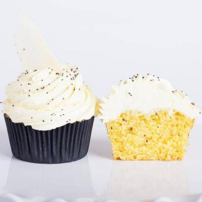 Lemon Poppy Cupcake