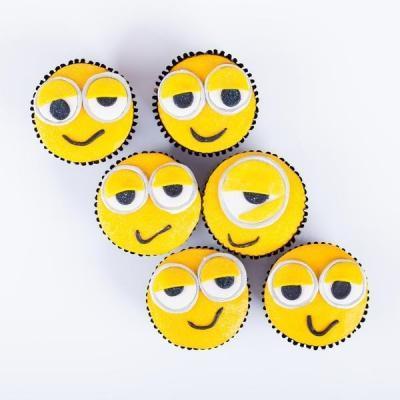 Minion designer Cupcakes