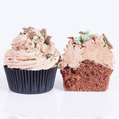 Peppermint Crisp Cupcake