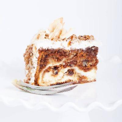 Pineapple-Carrot cake Cheese cake