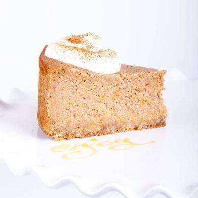 Pumpkin-spice baked Cheese Cake