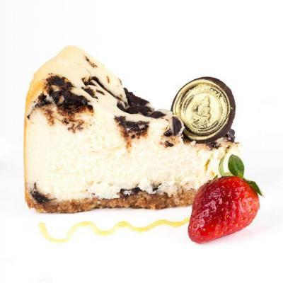 Baked-Chocolate-chip-Cheesecake