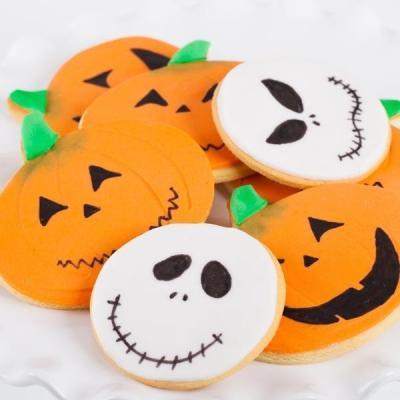 Halloween Biscuits x 6